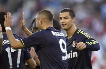 Rayo Vallecano 0-2 Real Madrid: Karim Benzema and Cristiano Ronaldo get Los Blancos back on track
