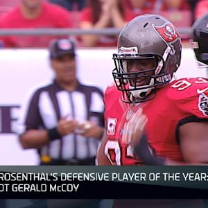 Can Tampa Bay Buccaneers defensive tackle Gerald McCoy win Defensive POY?