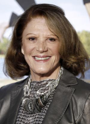 """FILE - In this Feb. 16, 2012 file photo, actress Linda Lavin arrives at the premiere of her film """"Wanderlust"""" in Los Angeles. Lavin will star in the upcoming musical """"Prince of Broadway,""""  opening in November. (AP Photo/Matt Sayles, file)"""