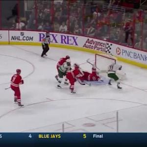 Zach Parise Goal on Anton Khudobin (06:18/3rd)