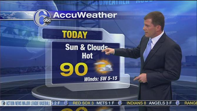 AccuWeather: Hot, More Humid