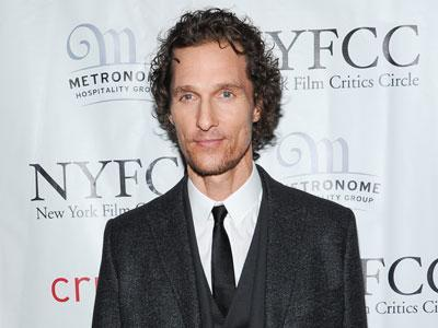 McConaughey Honored by NY Film Critics Circle