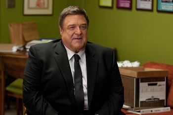 John Goodman lays down the law at Greendale this season