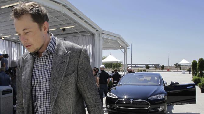 Tesla falls most in 2 years on battery shortage