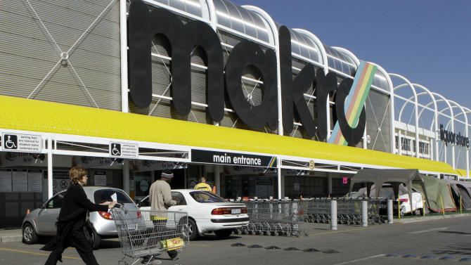 Makro wholesale outlet in Johannesburg, South Africa on Tuesday May 31, 2011, is part of the  Massmart chain. South African regulators say they will announce Tuesday whether Wal-Mart's 17 billion rand (US$2.4 billion) bid to buy a controlling share of South African chain Massmart can go through. (AP Photo/Themba Hadebe)