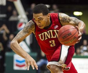Marshall leads No. 19 UNLV past Hawaii 74-69