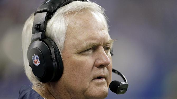Houston Texans head coach Wade Phillips watches from the sideline during the second half of an NFL football game against the Indianapolis Colts in Indianapolis, Sunday, Dec. 15, 2013