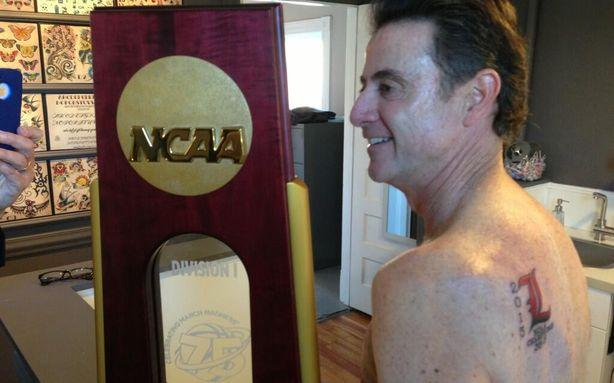 Rick Pitino Will Not Regret His New Back Tattoo