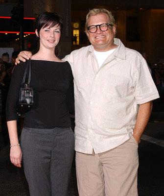Premiere: Drew Carey with Brandi Hudson at the Hollywood premiere of Paramount Pictures' Sky Captain and the World of Tomorrow - 9/14/2004