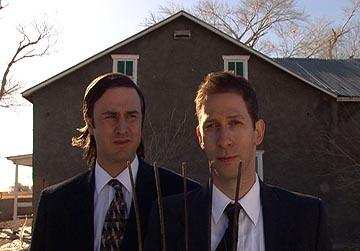 David Arquette and Tim Blake Nelson in Innovation's A Foreign Affair