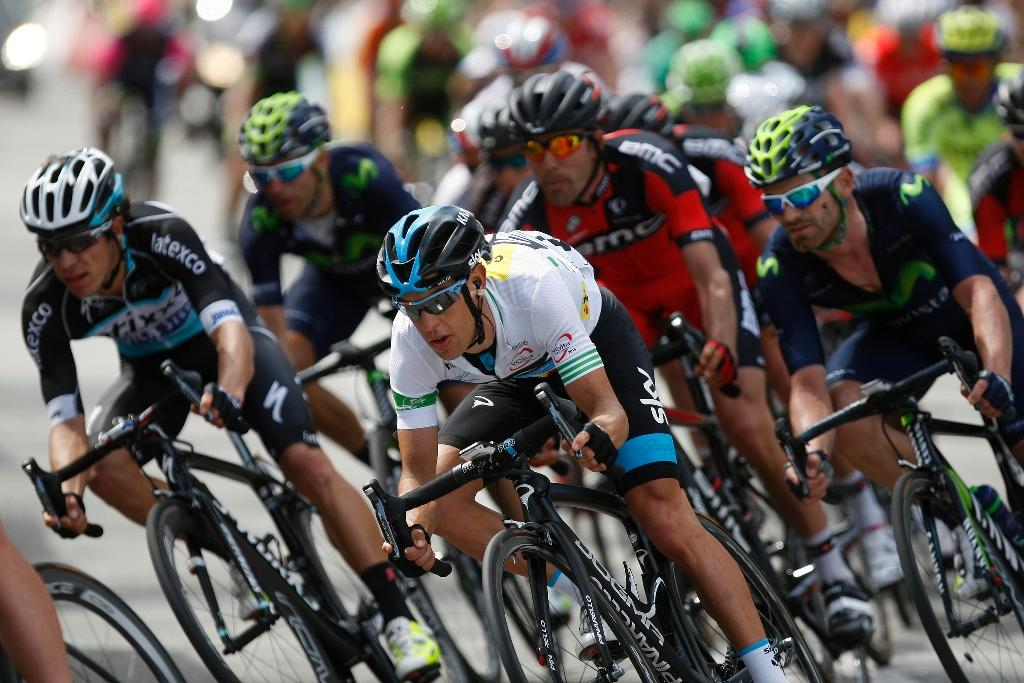 Porte holds off Valverde charge to win Tour of Catalonia