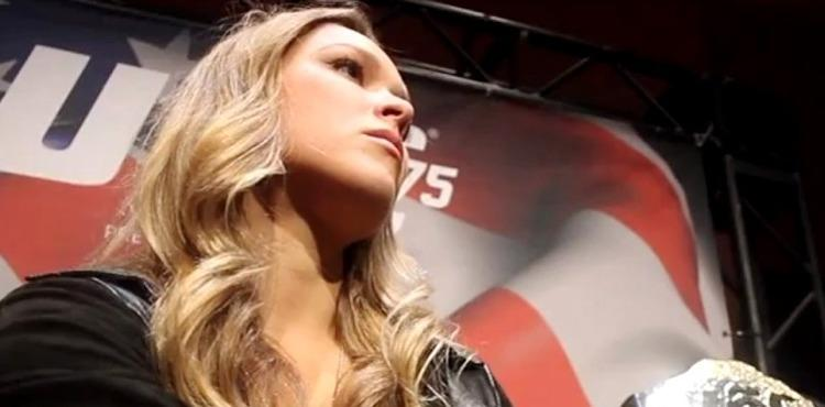 Ronda Rousey Changing Society's Traditional Ideals about Women in Sports