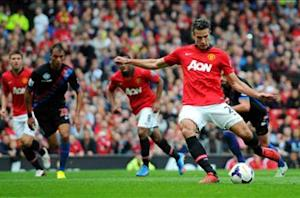 Manchester United 2-0 Crystal Palace: Van Persie and Rooney on target as Fellaini makes Old Trafford bow