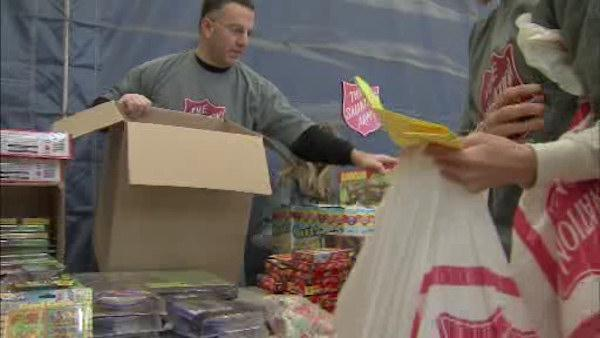 Salvation Army brings Christmas joy to families