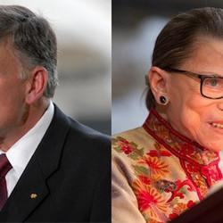 Franklin Graham Thinks He Can Pray And Sway Notorious RBG