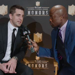 'NFL Honors': Green Bay Packers quarterback Aaron Rodgers on winning MVP