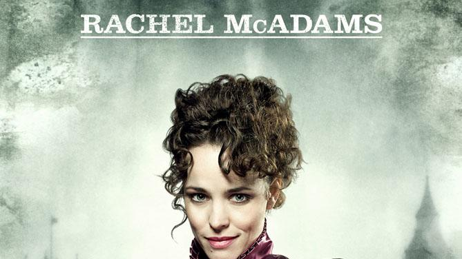 Rachel McAdams Sherlock Holmes Production Stills 2009 Warner Bros. Poster
