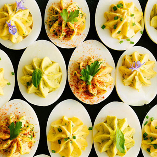 Smoky Deviled Eggs With Greek Yogurt Recipes — Dishmaps