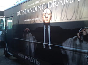 EMMYS: Netflix Serves Up 'House Of Cards' FYC BBQ Campaign