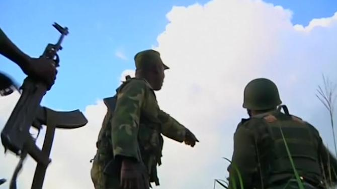 Rebels and Congo army clash