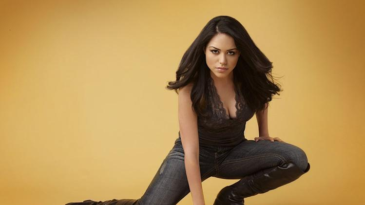 "Alyssa Diaz stars as Jasmine on ""The Nine Lives of Chloe King."""