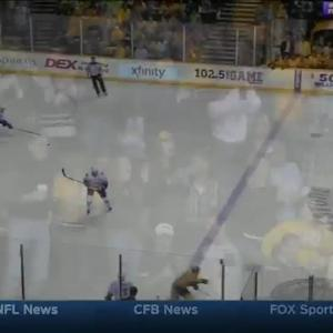 Vancouver Canucks at Nashville Predators - 03/31/2015