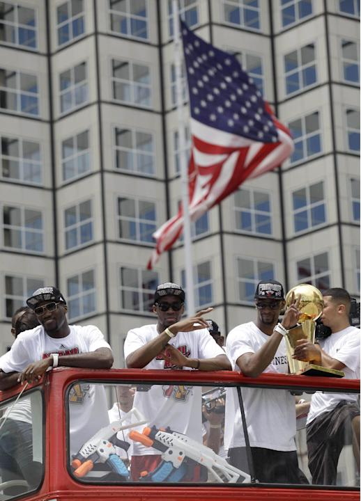 Heat Parade Basketball