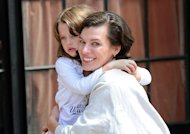 Dcouvrez la nouvelle doublure de Milla Jovovich : sa fille !