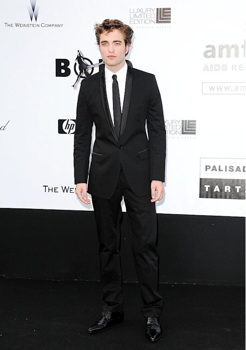 Pattinson Robert amfAR Cannes