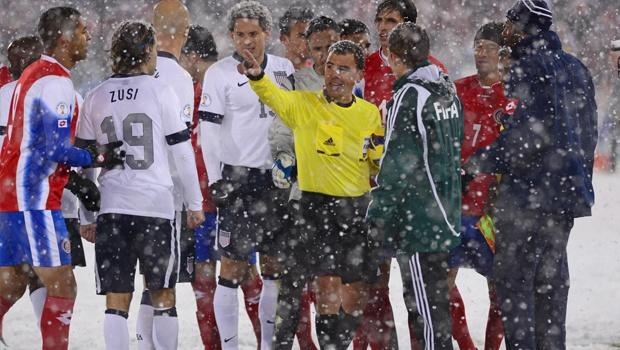 FIFA studying Costa Rica protest after World Cup qualifying loss to USA in blizzard conditions