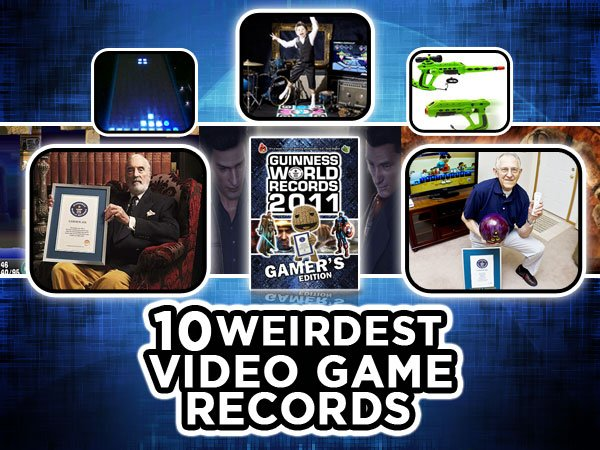10 Weirdest Video Game Records