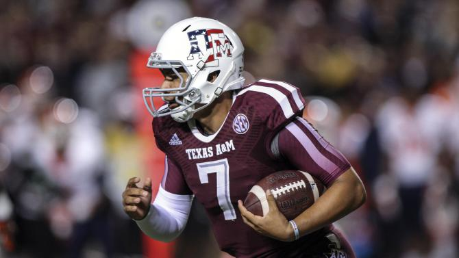 NCAA Football: Texas El Paso at Texas A&M