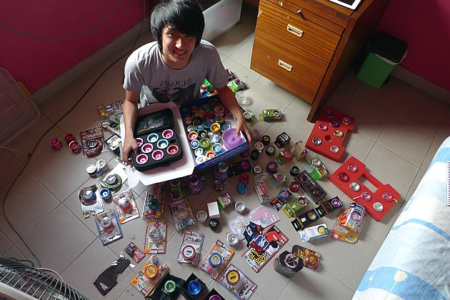 19-year-old student Marcus Koh is a yo-yo world champion. (Yahoo! photo/ Fann Sim)