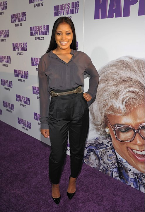 Tyler Perry's Madea's Big Happy Family 2011 LA Premiere Keke Palmer