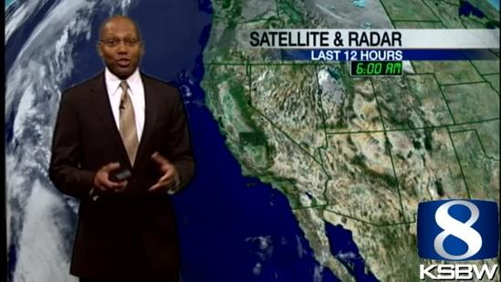 Check Out Your Sunday Evening KSBW Weather Forecast 01 20 13
