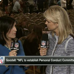 NFL commissioner Roger Goodell leaves a lot of unanswered questions