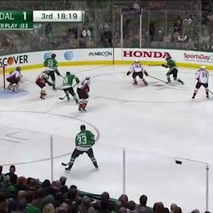 John Gibson Save on Ales Hemsky (01:42/3rd)