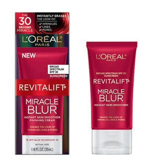 L'Oreal Paris Revitalift Miracle Blur Instant Skin Smoother Finishing Cream