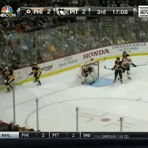 Rob Scuderi Hit on R.J. Umberger (03:15/3rd)