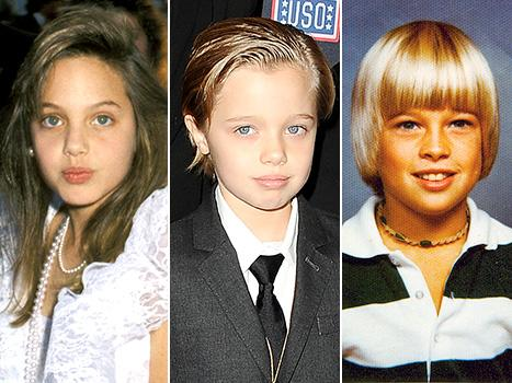 Shiloh Jolie-Pitt Is the Spitting Image of Young Angelina Jolie and Brad Pitt: See the Side-By-Side Photos!