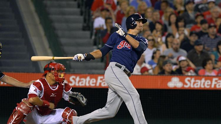 Indians roll past Angels 5-2 with big 4th inning