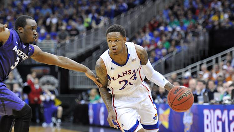 NCAA Basketball: Big 12 Tournament-Kansas vs Kansas State