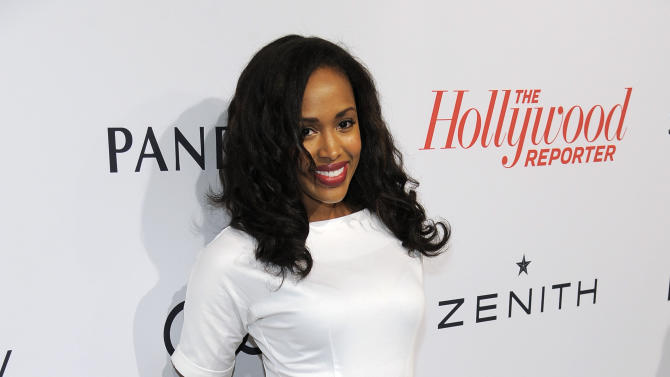 Shvona Lavette arrives at The Hollywood Reporter Nominees' Night at Spago on Monday, Feb. 4, 2013, in Beverly Hills, Calif. (Photo by Chris Pizzello/Invision for The Hollywood Reporter/AP Images)