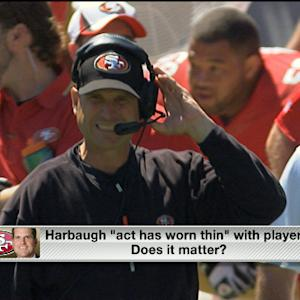 Is Jim Harbaugh on thin ice in San Francisco?