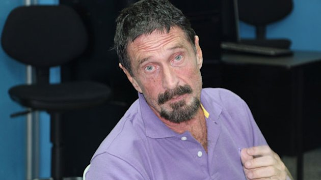 McAfee Lands in Miami: I'm Free (ABC News)