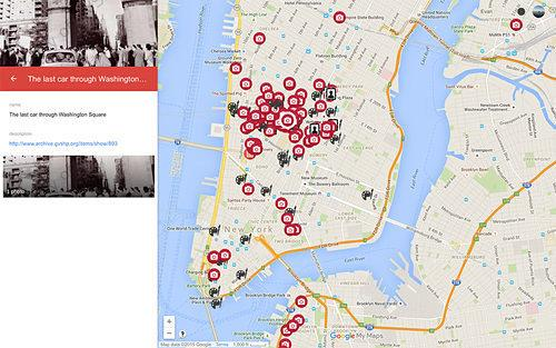 New Mapped Historic Photo Archive Shows Off NYC's Past