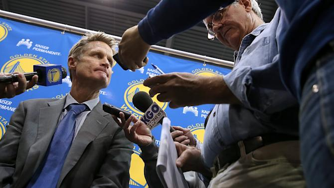 Golden State Warriors Introduce Steve Kerr