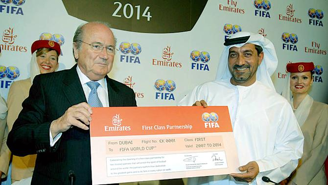 Emirates wants FIFA changes before new sponsorship