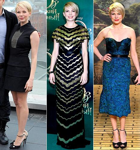 Michelle Williams: Vote for Her Best Post-Jason Segel Breakup Look