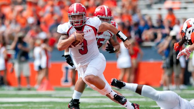 Illini, Lunt survive Youngstown scare 28-17